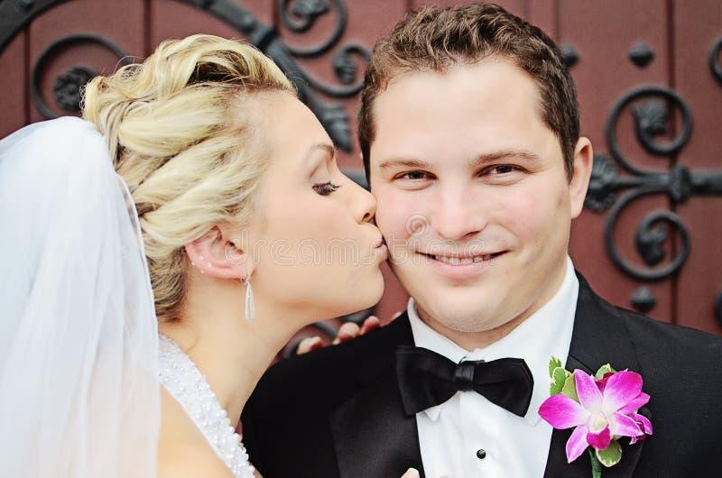 Счастливый groom стоковое изображение rf