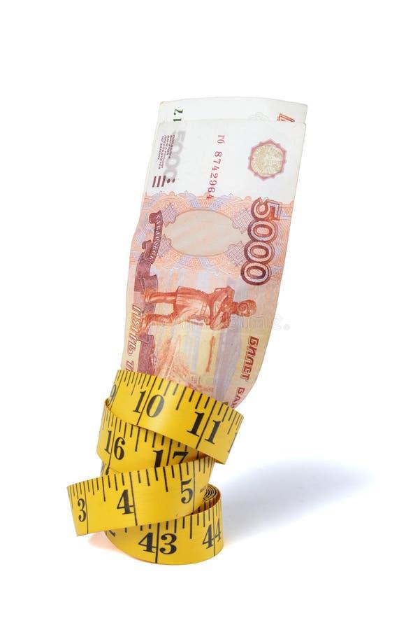 Счеты щебня и лента измерения стоковая фотография rf