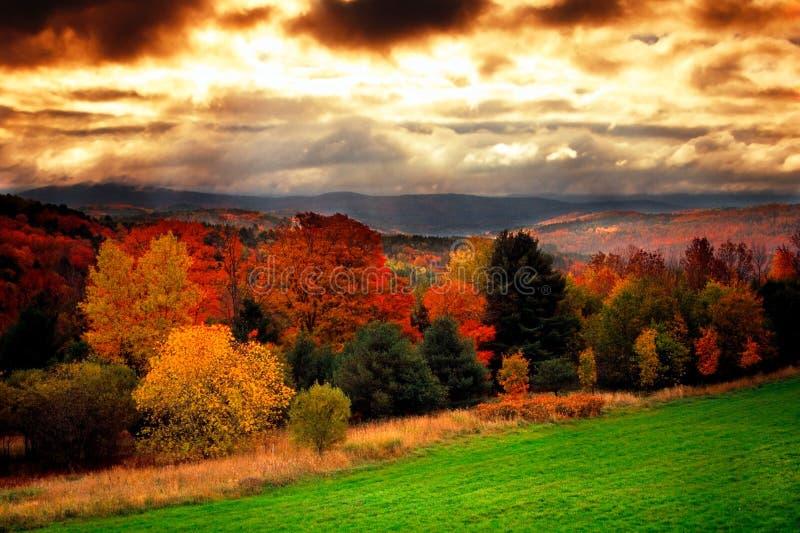 США Вермонт стоковая фотография rf