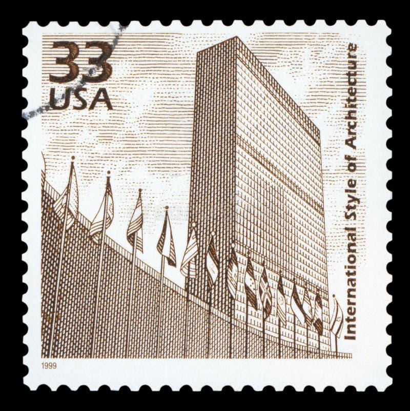 США - Печать почтового сбора стоковое изображение rf