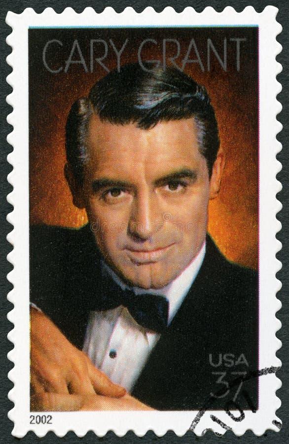 США - 2002: рассол принесенный Grant Archibald Александра выставок 1904-1986 Cary, актер стоковое изображение rf