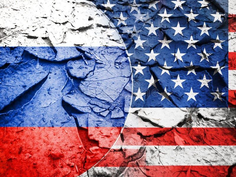 США санкционируют против концепции России стоковая фотография rf