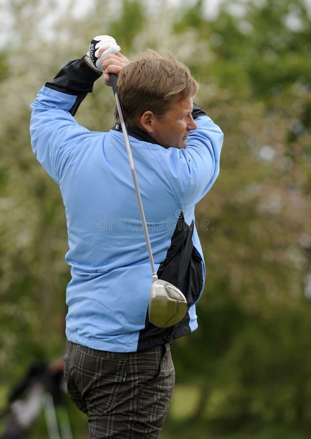 съемка гольфа стоковые изображения rf