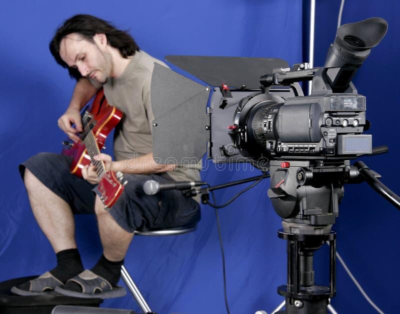 съемка камеры gutarman стоковые изображения rf