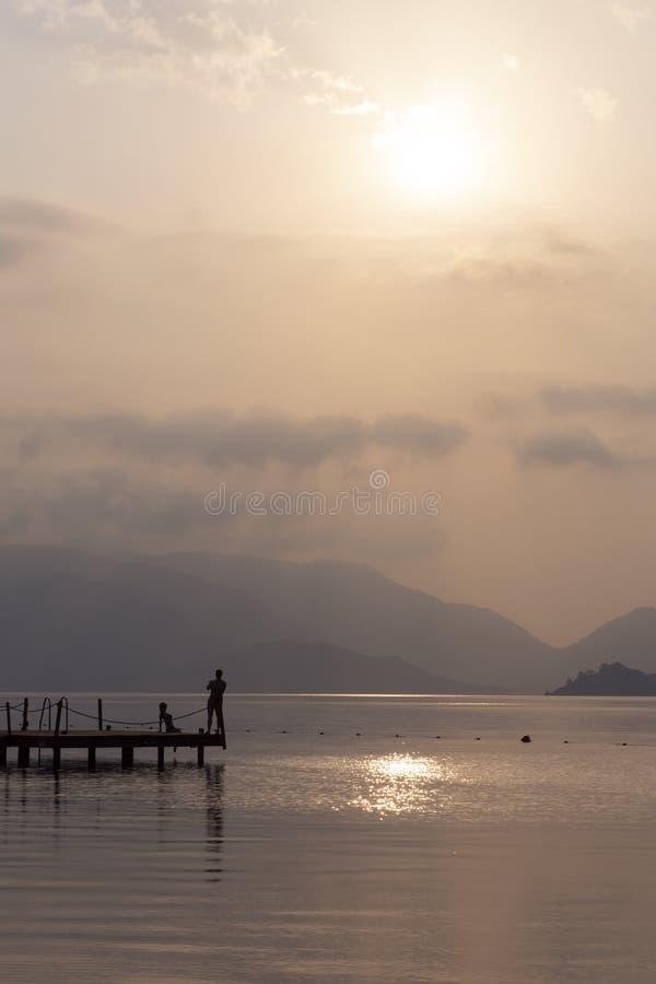 Съемка красоты восхода солнца стоковые изображения
