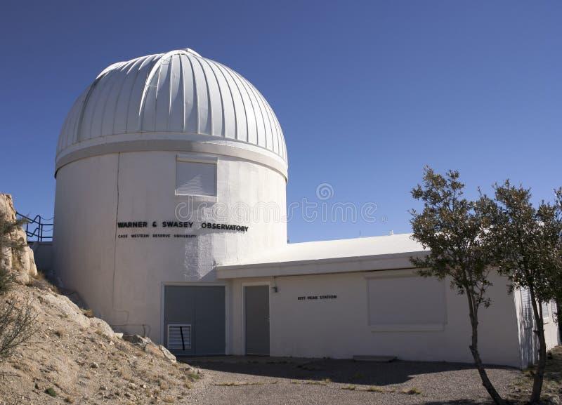 Съемка обсерватории Warner & Swasey, пик Kitt стоковое фото rf