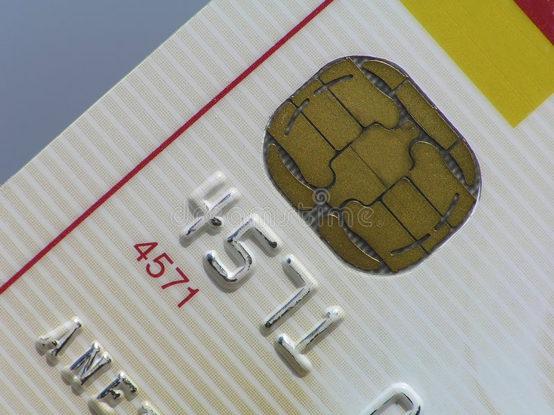 съемка перспективы кредита карточки стоковое изображение