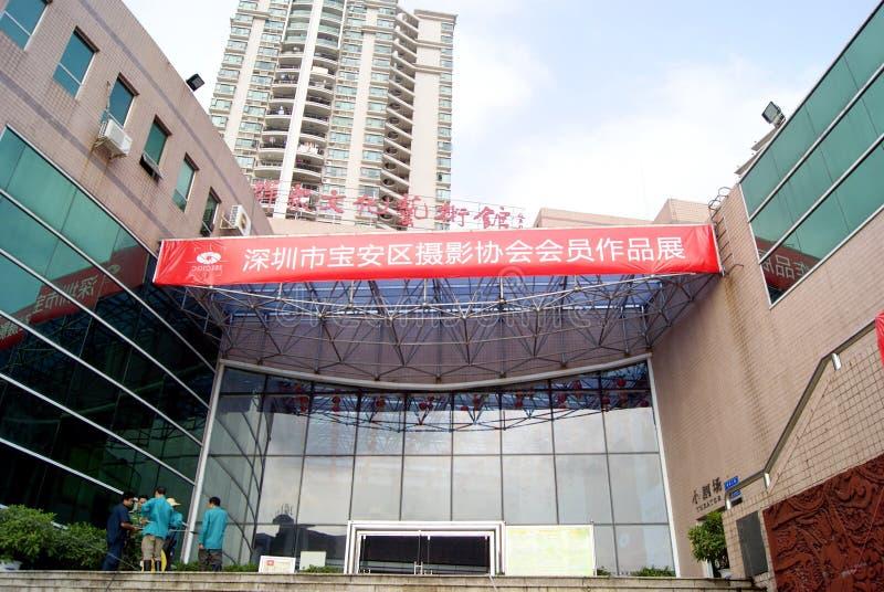 съемка shenzhen выставки фарфора стоковое изображение