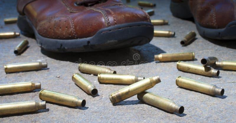 Съемки винтовки стоковое фото rf
