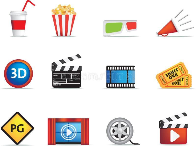 съемочная площадка иконы кино бесплатная иллюстрация