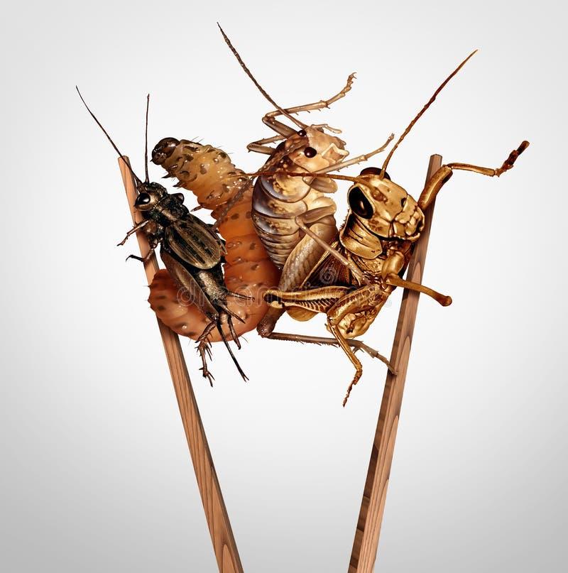Съестные насекомые иллюстрация штока