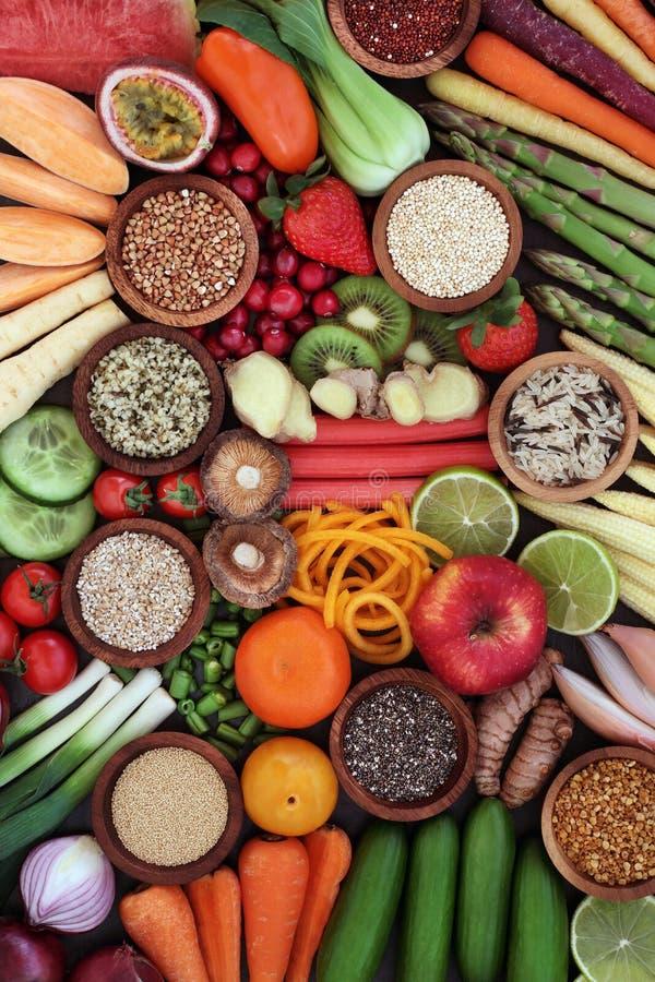 Съешьте супер еду для хороших здоровий стоковая фотография rf