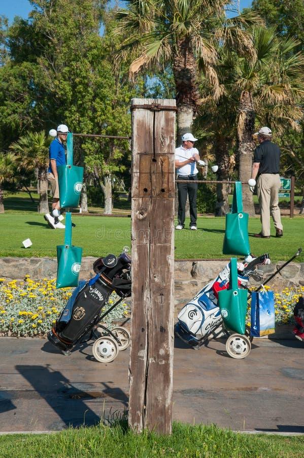 Сыграйте в гольф турнир на Косте del Sol, Малаге, Испании стоковые фотографии rf