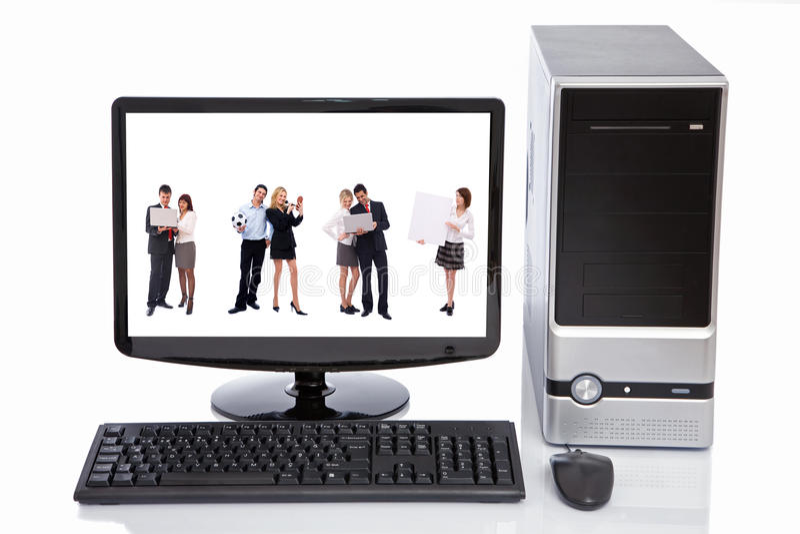 сыгранность lcd принципиальной схемы компьютера стоковые фото