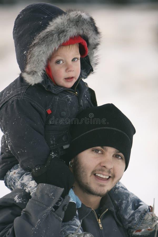 сынок отца стоковое фото