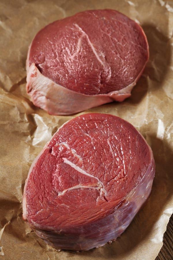 Сырое мясо стоковые фотографии rf