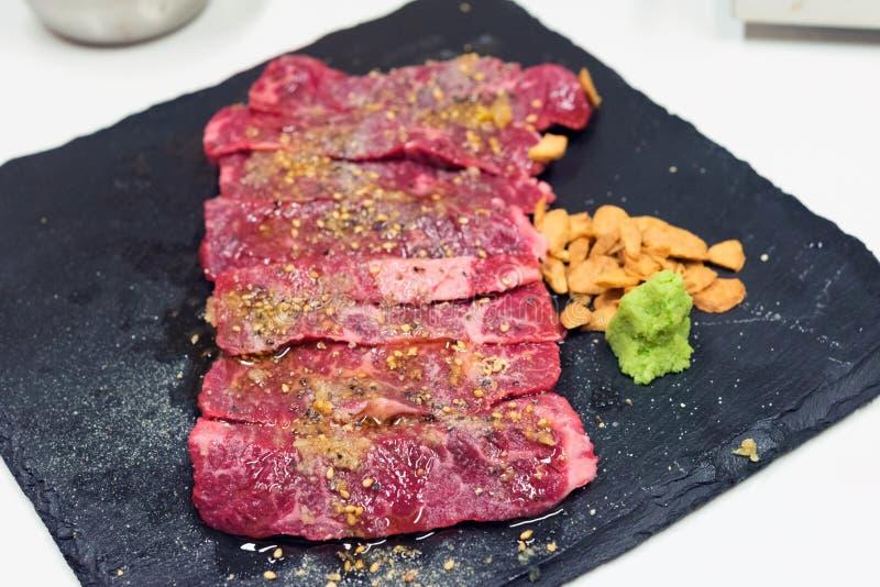 Сырцовая закваска говядины стоковое изображение
