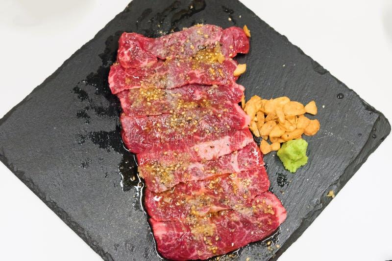 Сырцовая закваска говядины стоковое изображение rf
