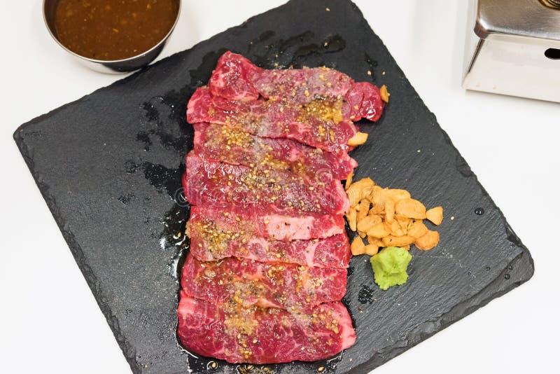 Сырцовая закваска говядины стоковая фотография rf