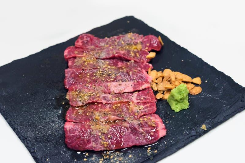 Сырцовая закваска говядины стоковые изображения rf