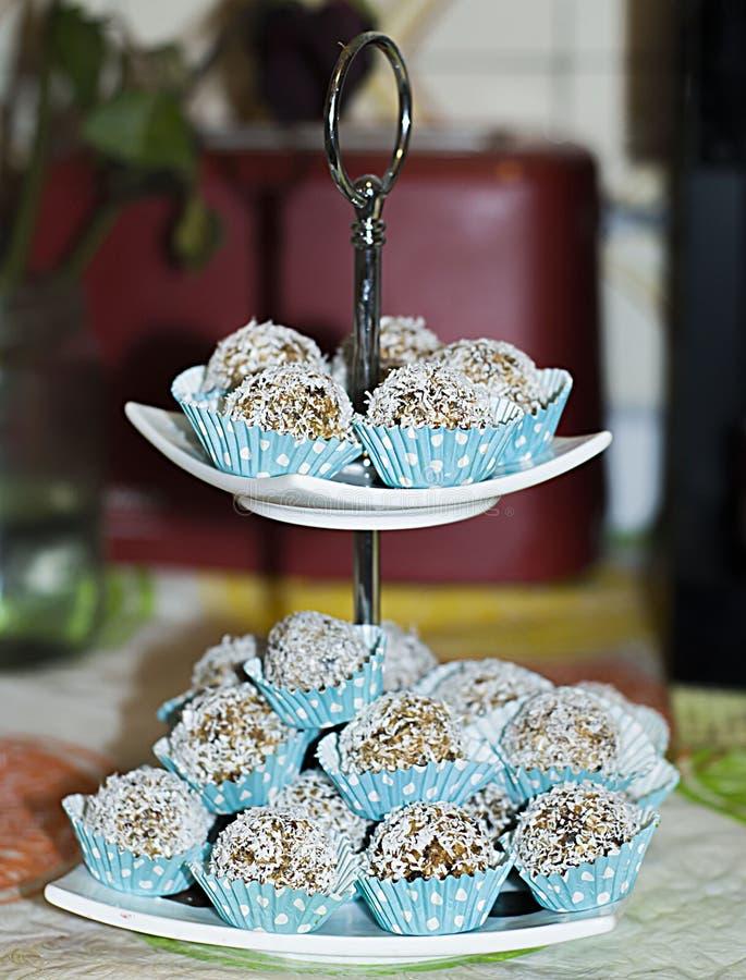 Сырцовая конфета кокоса стоковая фотография rf