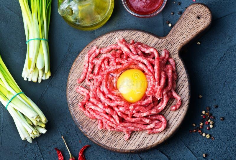 сырцовое ое мясом стоковые фото