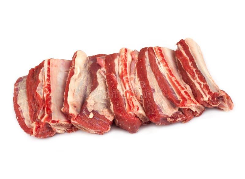 Сырцовые нервюры говядины стоковое фото rf