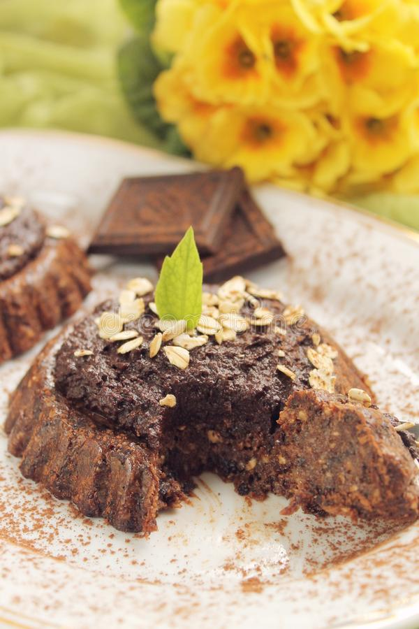 Сырцовые пироги vegan стоковые изображения