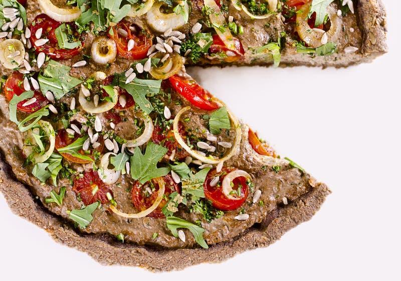 Сырцовый quiche еды стоковые фото