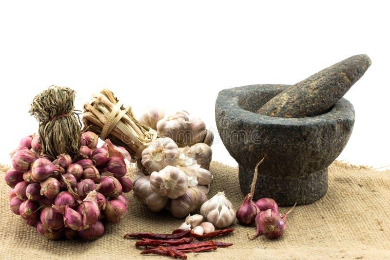Сырье для тайской еды стоковое изображение rf