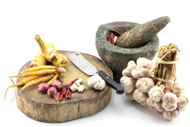 Сырье для тайской еды стоковая фотография rf