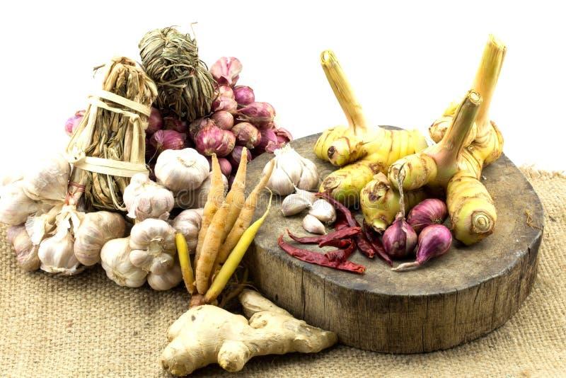Сырье для тайской еды стоковое фото