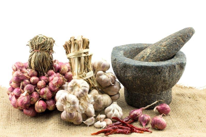 Сырье для тайской еды стоковая фотография
