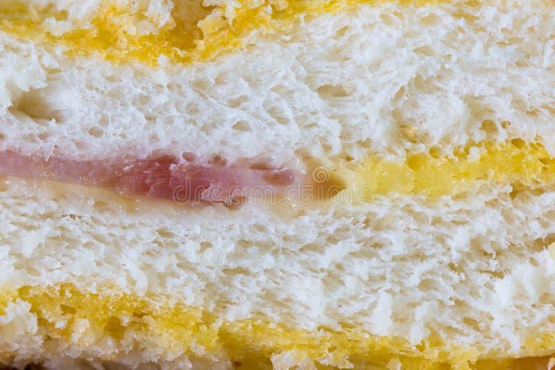 Download Сыр ветчины сандвича макроса Стоковое Фото - изображение насчитывающей завтраки, кудряво: 40577448