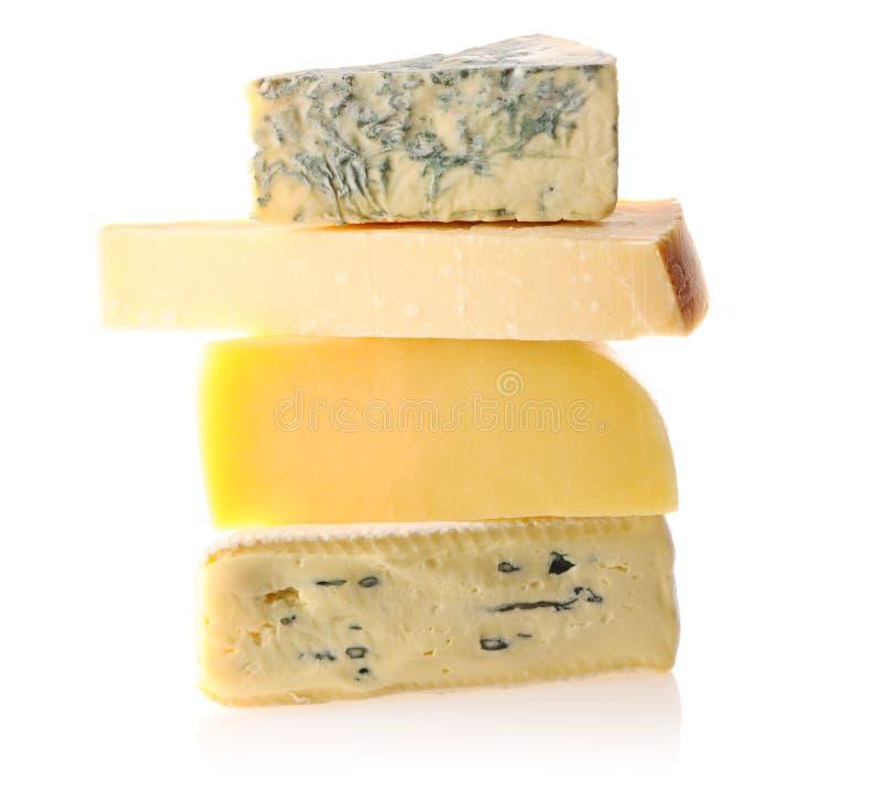 сыр печатает различное на машинке стоковая фотография rf