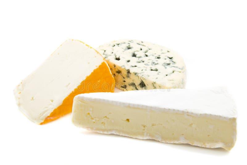 сыр assorti стоковое фото