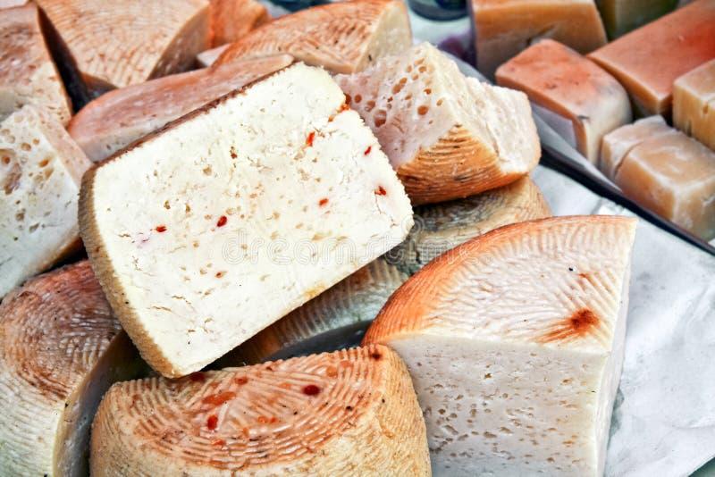 сыр caciotta стоковые фотографии rf
