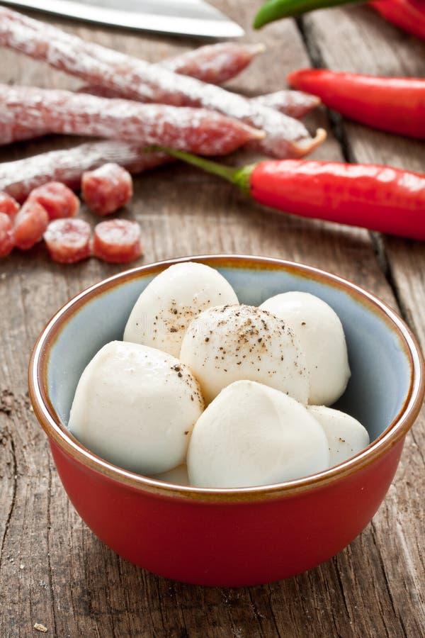 Сыр Mozzarella стоковое фото