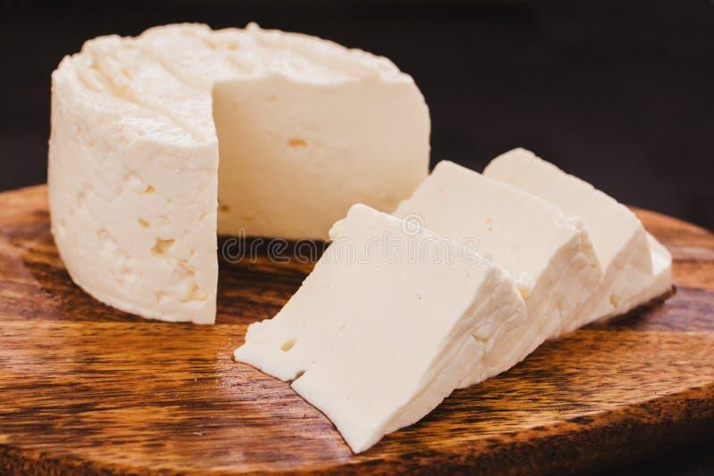 Сыр Queso Panela, мексиканская кухня, белизна и свежий сыр в Мексике стоковые изображения