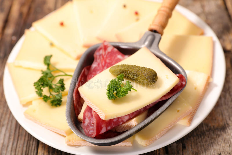 Сыр Raclette стоковое изображение rf