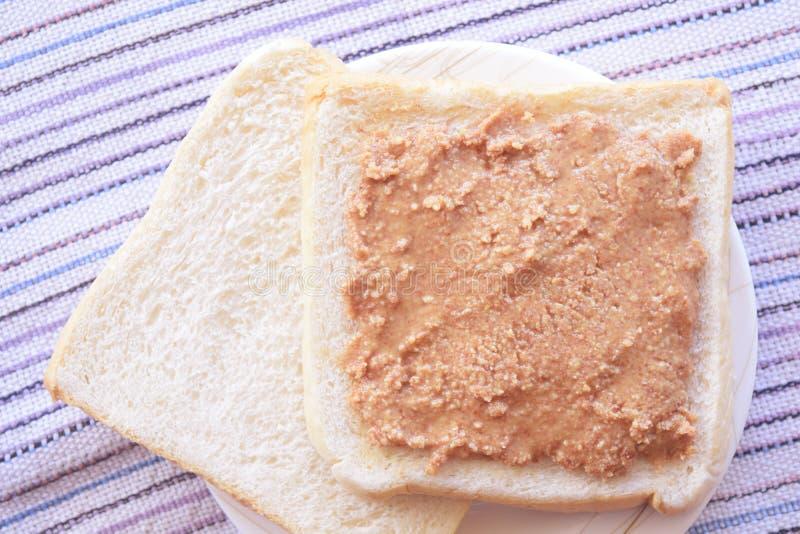 Сэндвич 1 арахисового масла стоковые фотографии rf