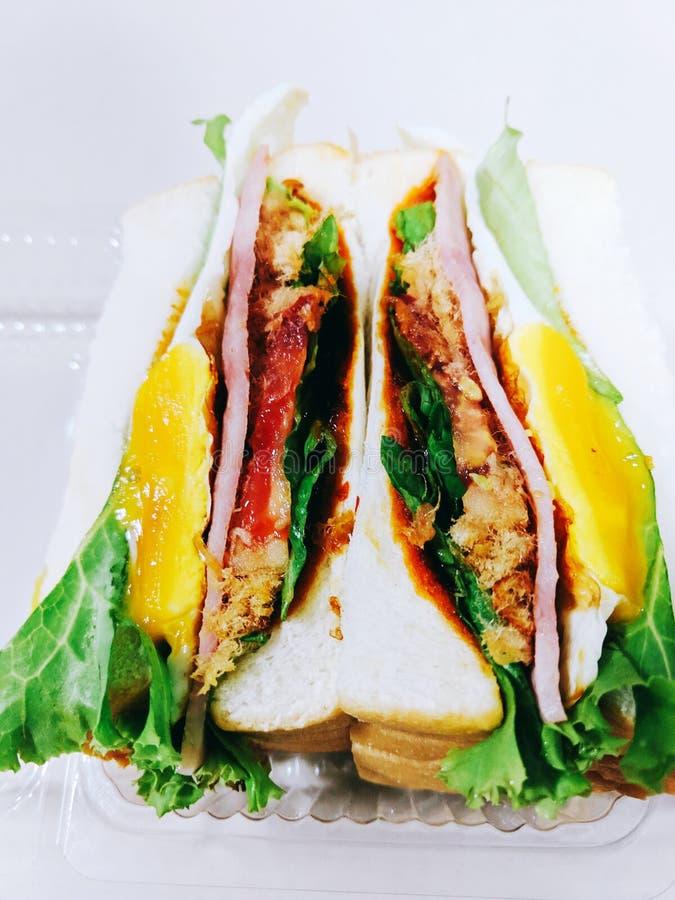 сэндвич стоковое изображение rf