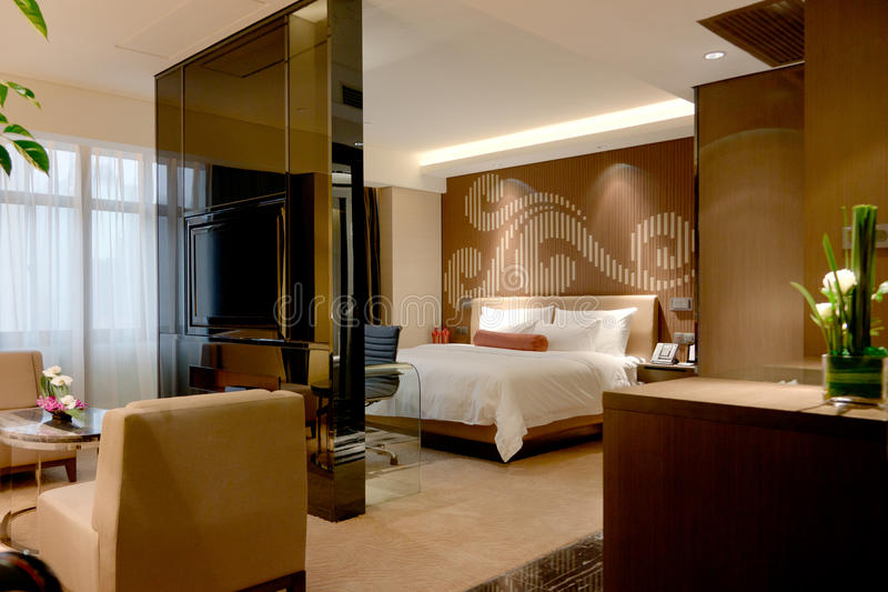 сюита гостиницы дела стоковые изображения rf