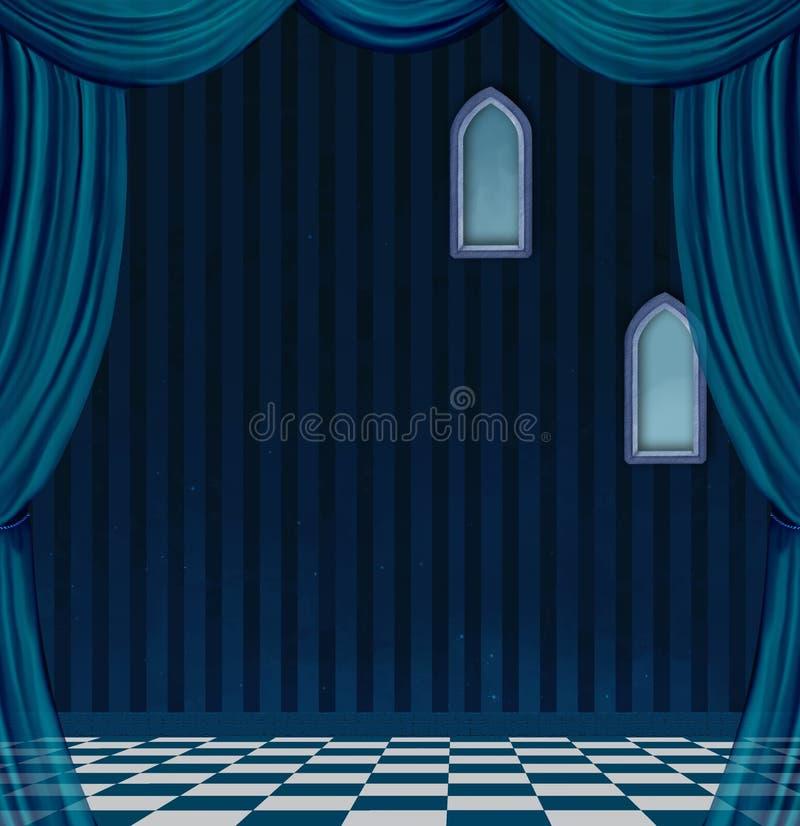 Сюрреалистическая пустая комната