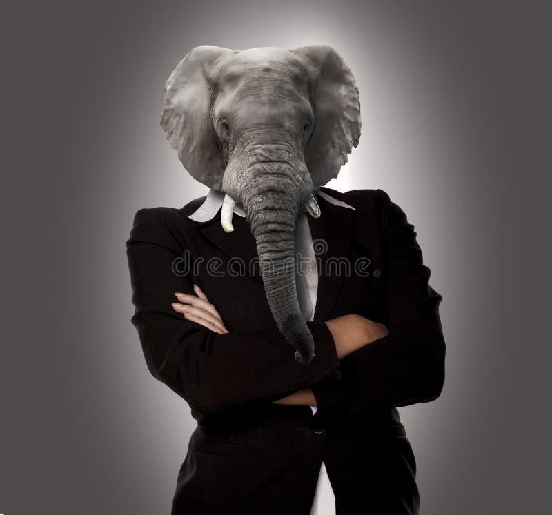 Сюрреалистический женский босс стоковое изображение