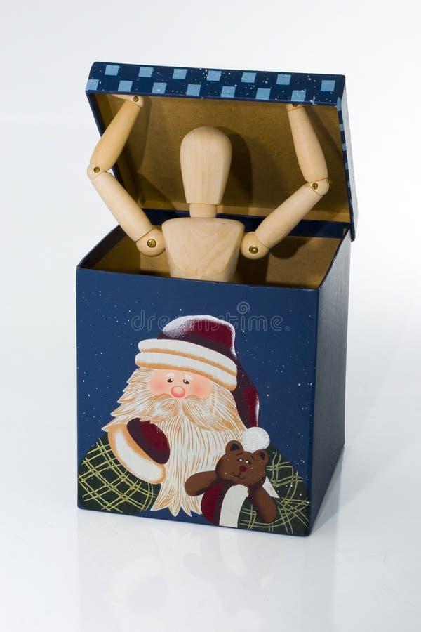 Сярприз коробки подарка стоковая фотография