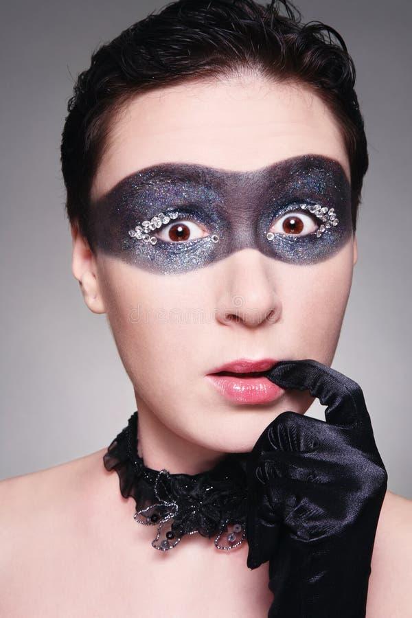 Download сярприз стоковое фото. изображение насчитывающей маска - 18392922
