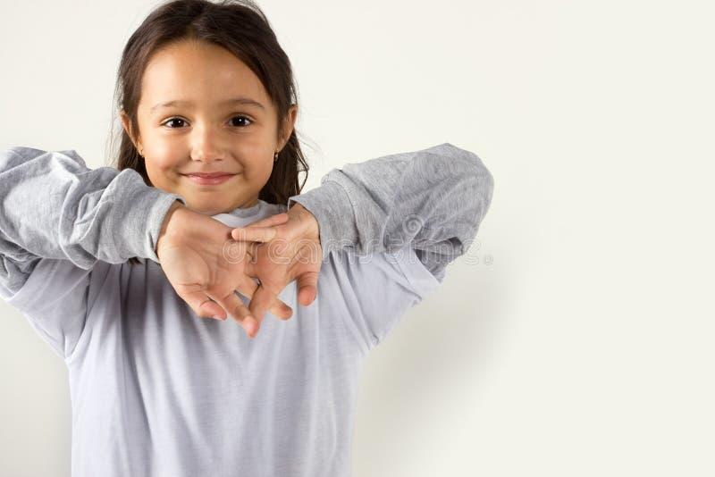 Ся маленькая девочка стоковые фотографии rf