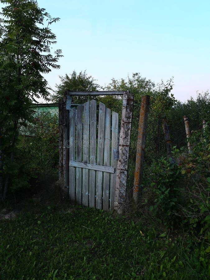 ? à entrada do jardim foto de stock royalty free