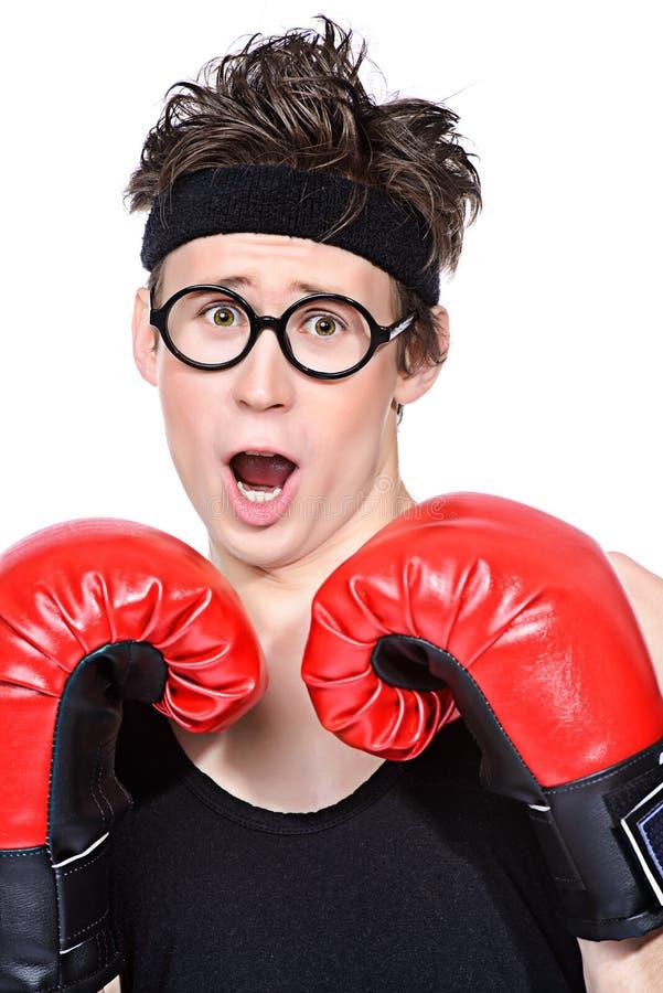 Слабый боксер стоковые фото